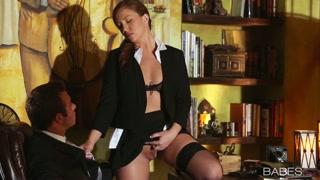 Fetiche de secretaria porno gratis