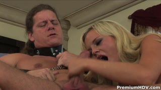 Loira faz sexo e putaria com o seu novo amante casado