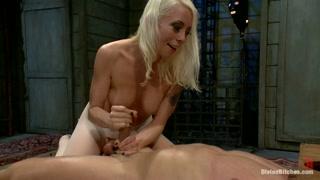 Atores pornô numa transa cheia de dominação e tesão!