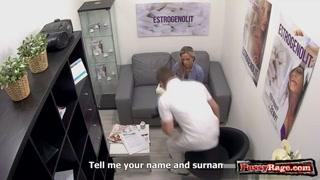 Candidata a videos porno grátis fode com agente